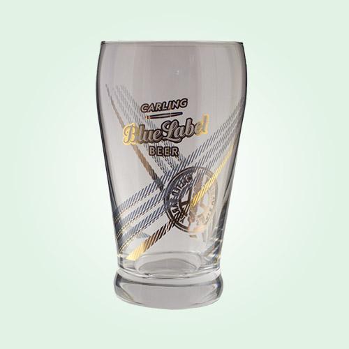 beer merchandise carling blue label beer glasses